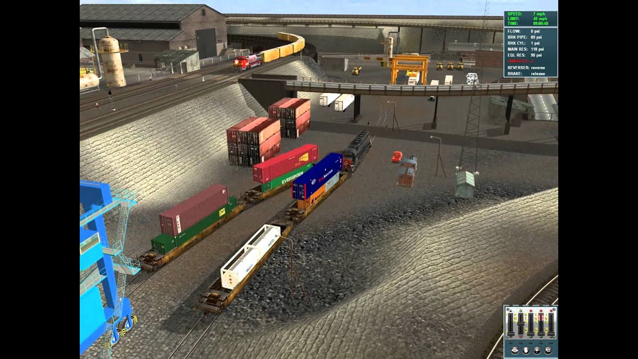 Trainz TS12 TTX double stack well cars - YouTube