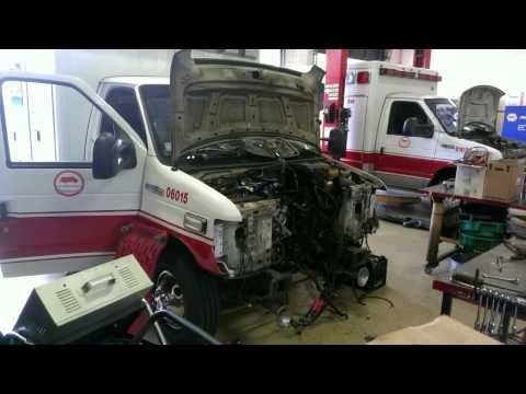 Engine Removal E-450 6.0L