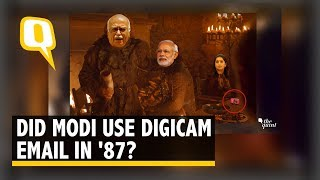 FACT CHECK: Did PM Modi Actually Use a Digicam & Email in 1987 ? | The Quint
