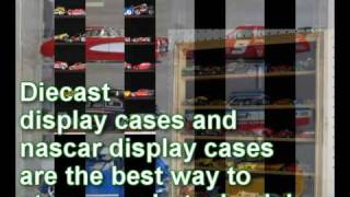 Treasure Your Nascar And Diecast Model Cars With Display Cases From Displaygifts.com