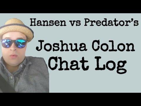 Joshua Colon Chat Log
