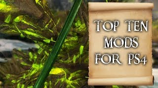 Top 10 mods for Skyrim on PS4