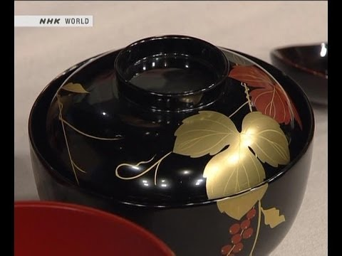 How its made - Japanese lacquer ware كيفية صناعة الاوعية الخشبية اليابانية الفاخرة