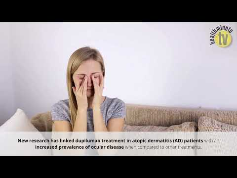 VIDEO: Dupilumab treatment for atopic dermatitis associated with increase ocular disease prevalence