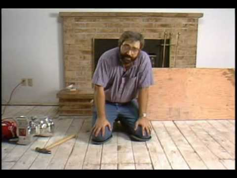 Hardwood Flooring Subfloor Preparation  Laying Hardwood