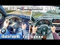 BMW 5 Series M550d xDrive NEW vs OLD 0-250km/h ACCELERATION TOP SPEED & AUTOBAHN POV by AutoTopNL