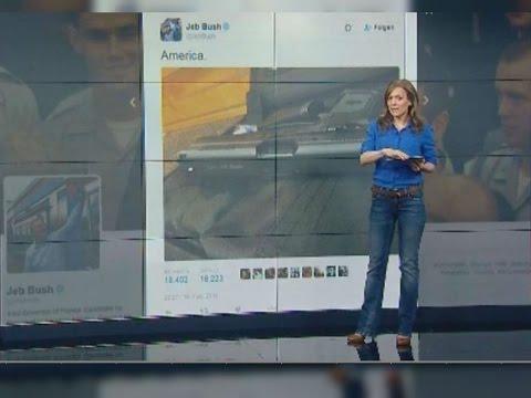 """Twitter-Foto mit Waffe: """"America""""-Post von Jeb Bush geht nach hinten los"""