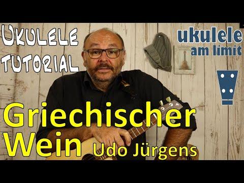 Griechischer WEIN (Udo Jürgens) - Ukulele Leicht Gemacht (Tutorial Auf Deutsch)