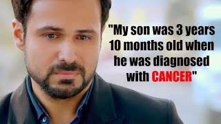 Emotional Emraan Hashmi Talks About His Son Ayaan