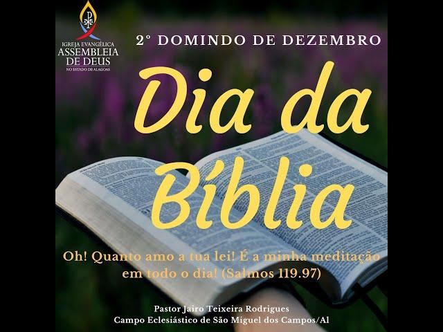 DESFILE DO DIA DA BÍBLIA 2020 - ADSMC | 13/12/2020.
