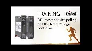 Set Up: DF1 master device polling an EtherNet/IP™ Logix controller