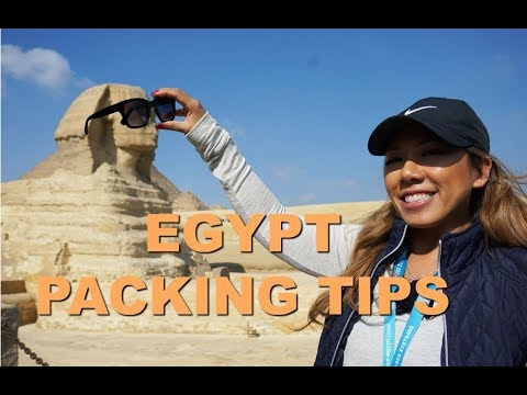 How to Pack:  Egypt