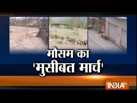 Rain, Snowfall and Hailstorm Hit Jammu and Kashmir Badly