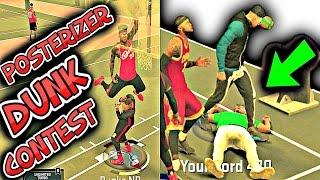 vuclip NBA 2K17 EPIC POSTERIZER DUNK CONTEST | LIT  MYPARK COMPILATION BEST EXPLOSIVE DUNKING DUNKS DUNKER