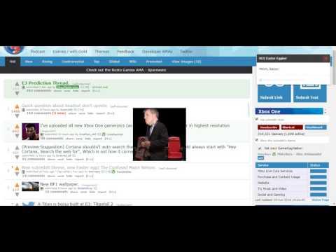Reddit XB1, Major Nelson E3