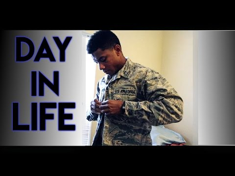 Air Force ROTC Cadet - A Day In The Life