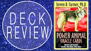 POWER  ANIMAL ORACLE  CARDS - Deck Review