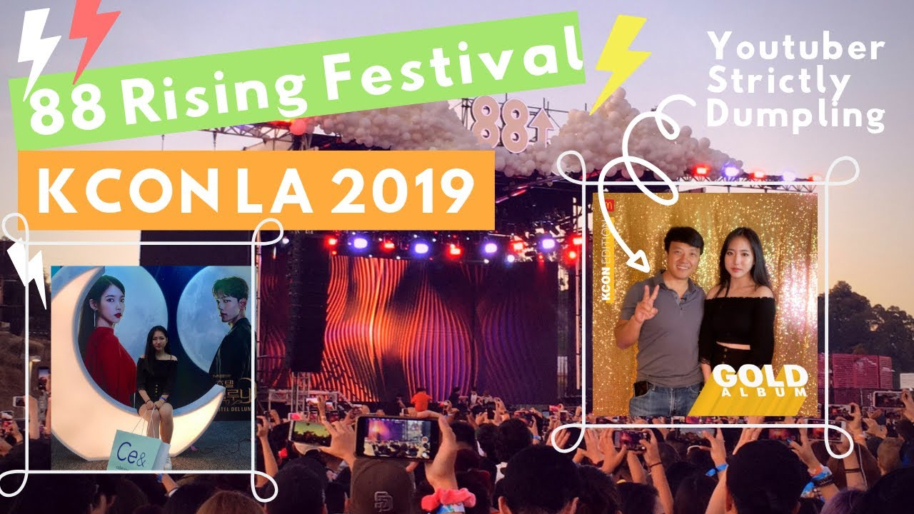 [Sophia LA Vlog] 88rising Festival Vlog & KCON LA 2019 뮤직페스티벌