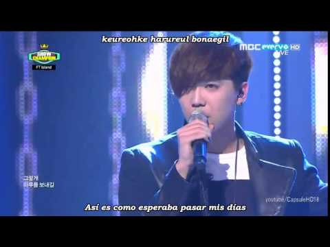 FT Island - Severely (지독하게) 'Grown-Up' (live) [Sub español + Romanizacion]