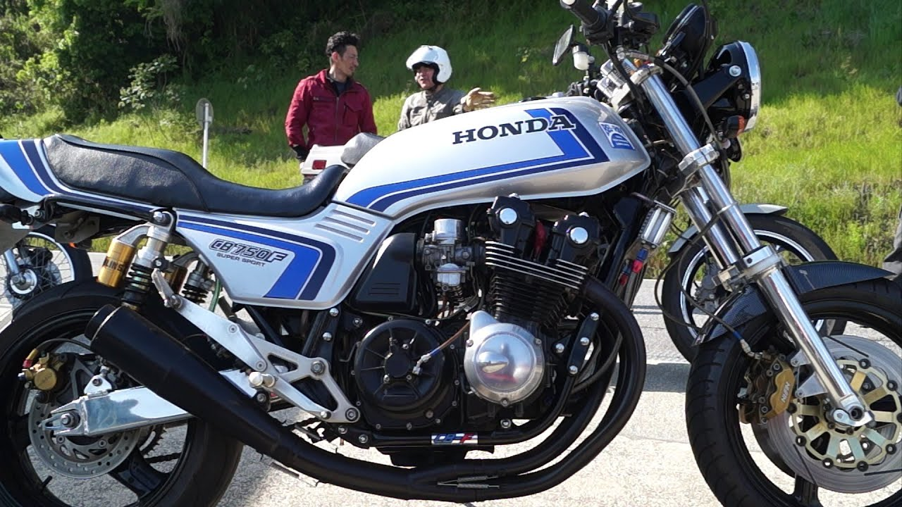 HONDA CB750F F スペンサーレプリカ - YouTube