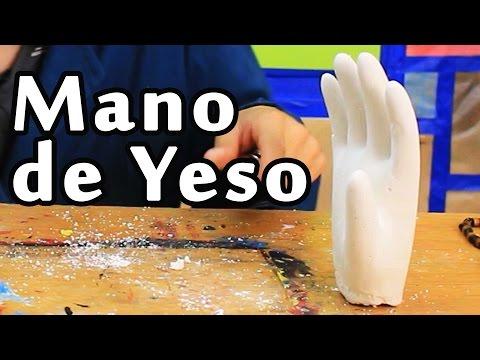 Cómo hacer una Mano de Yeso (Super Fácil) | Arte Track