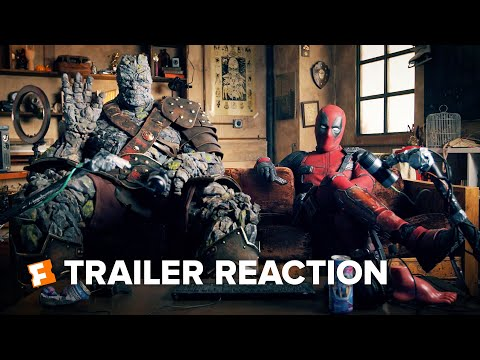 Free Guy Trailer Reaction - Deadpool and Korg (2021) | Movieclips Trailers