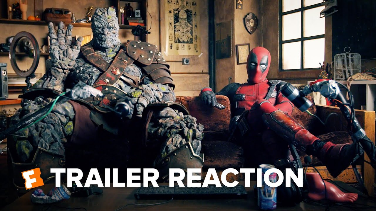 Download Free Guy Trailer Reaction - Deadpool and Korg (2021) | Movieclips Trailers
