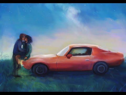 stars and cars (digital painting tutorial)