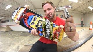 BUILDING MY NEW SKATEBOARD / Andy Schrock