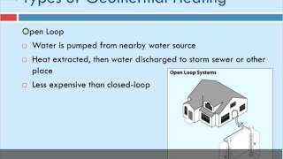 Geothermal Building Systems