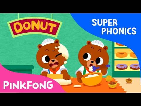 Ut | Coconut Donut | Super Phonics | Pinkfong Songs For Children