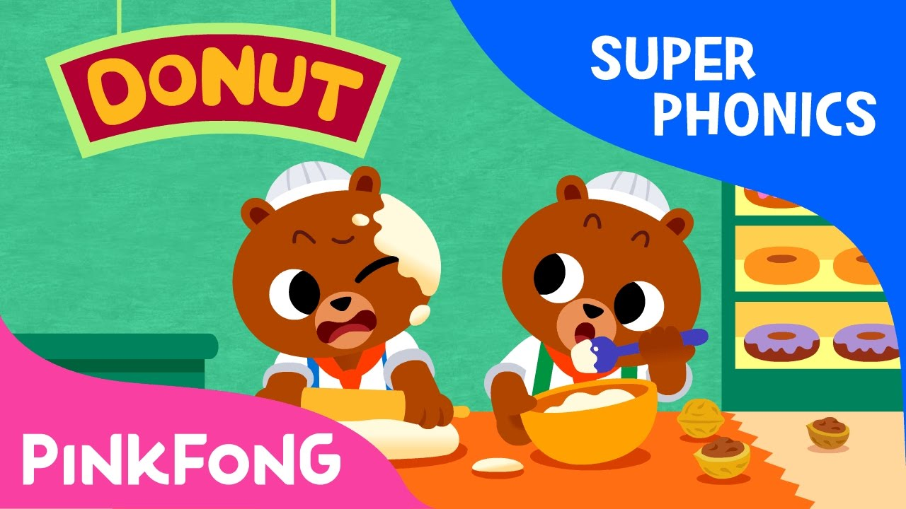Download ut | Coconut Donut | Super Phonics | Pinkfong Songs for Children