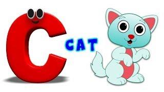 La phonétique de la Lettre - C chanson | Alphabet des Chansons Pour les Enfants | Vidéos d'Apprentissage Pour les tout-petits par les Enfants de la Télé