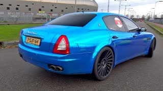 The MOST INSANE Maserati Quattroporte 4.2 V8 with Straight Custom Exhaust ?!?