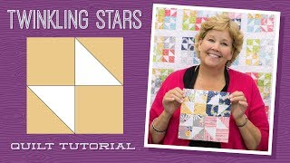 Make a Twinkling Stars Quilt with Jenny! thumbnail