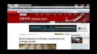 Syria: Massacre and BBC Scandal, Siria: Massacro e lo scandalo della BBC, فضيحة ال bbc