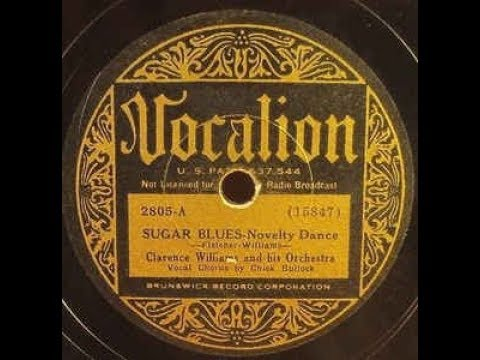 SUGAR BLUES  (1922) - by New Orleans Jazz Society '65