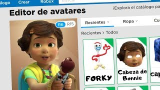 I CREATE THE BONNIE PROFILE OF TOY STORY 4 IN ROBLOX - BONNIE ACCOUNT