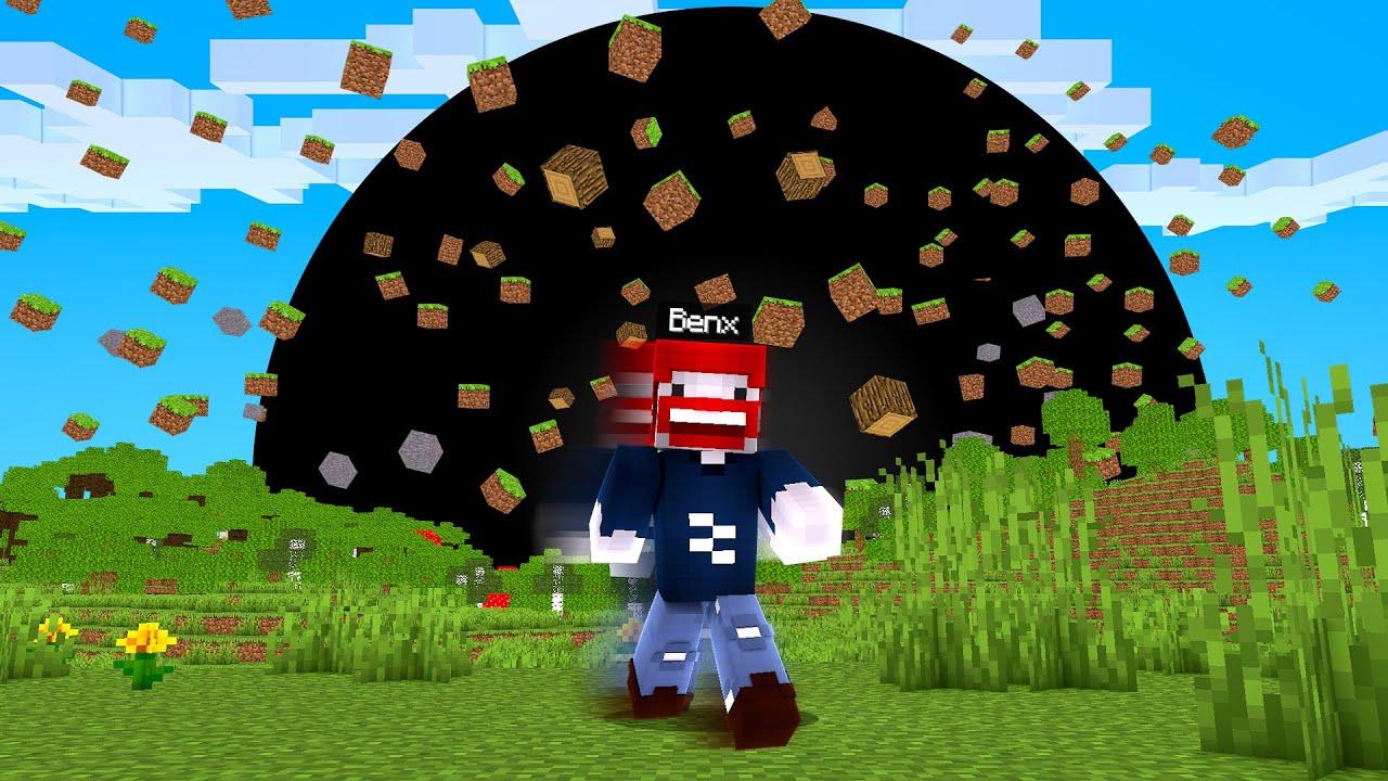 UNSERE WELT wird vom SCHWARZES LOCH GEFRESSEN! - Minecraft