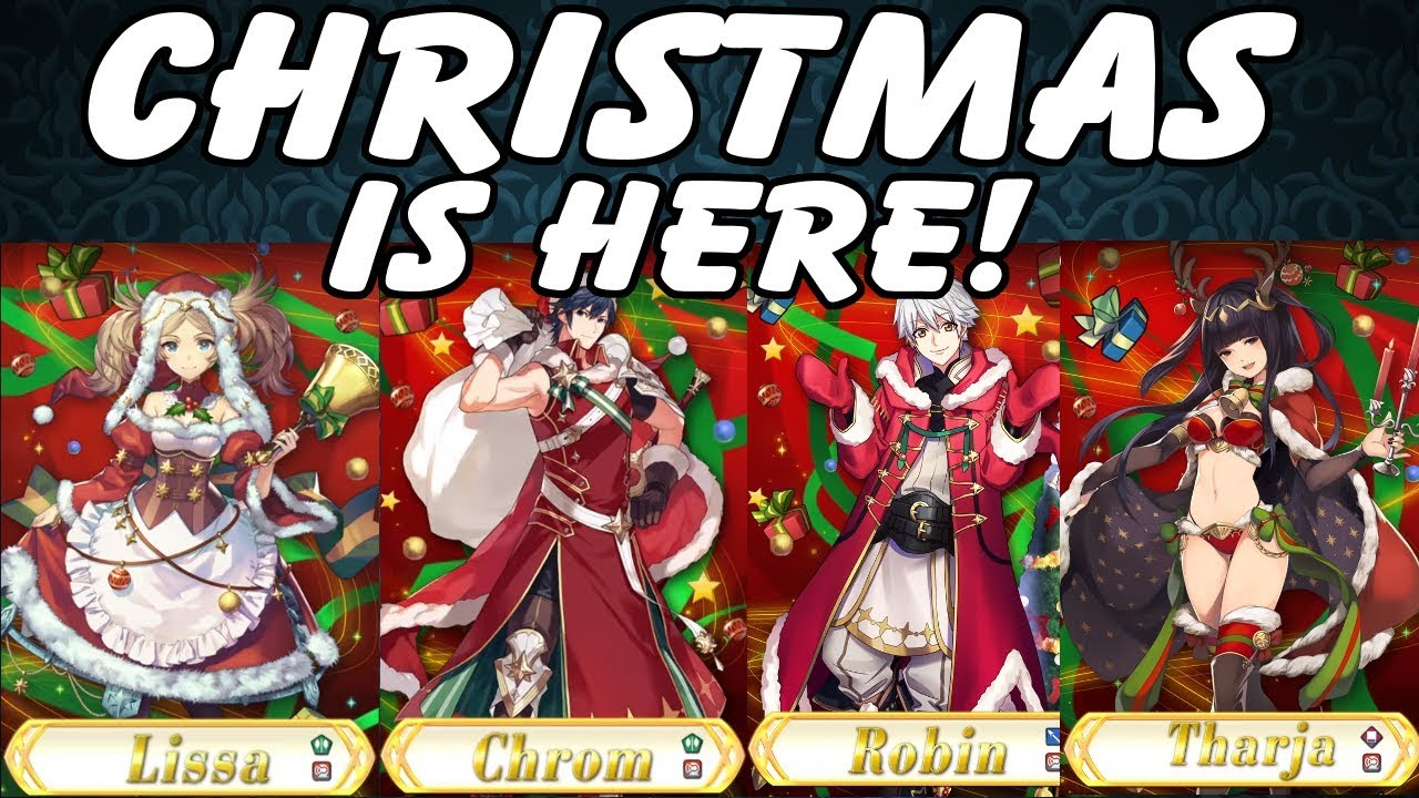 Fe Heroes Christmas.Fire Emblem Heroes Christmas Banner Reactions I Am So Confused