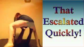 That Escalated Quickly!   Super FUNNY MOMENTS & FAILS compilation 2