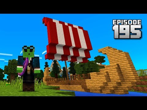 Let's Play Minecraft PE - Ep.195: TRADE SHIP!