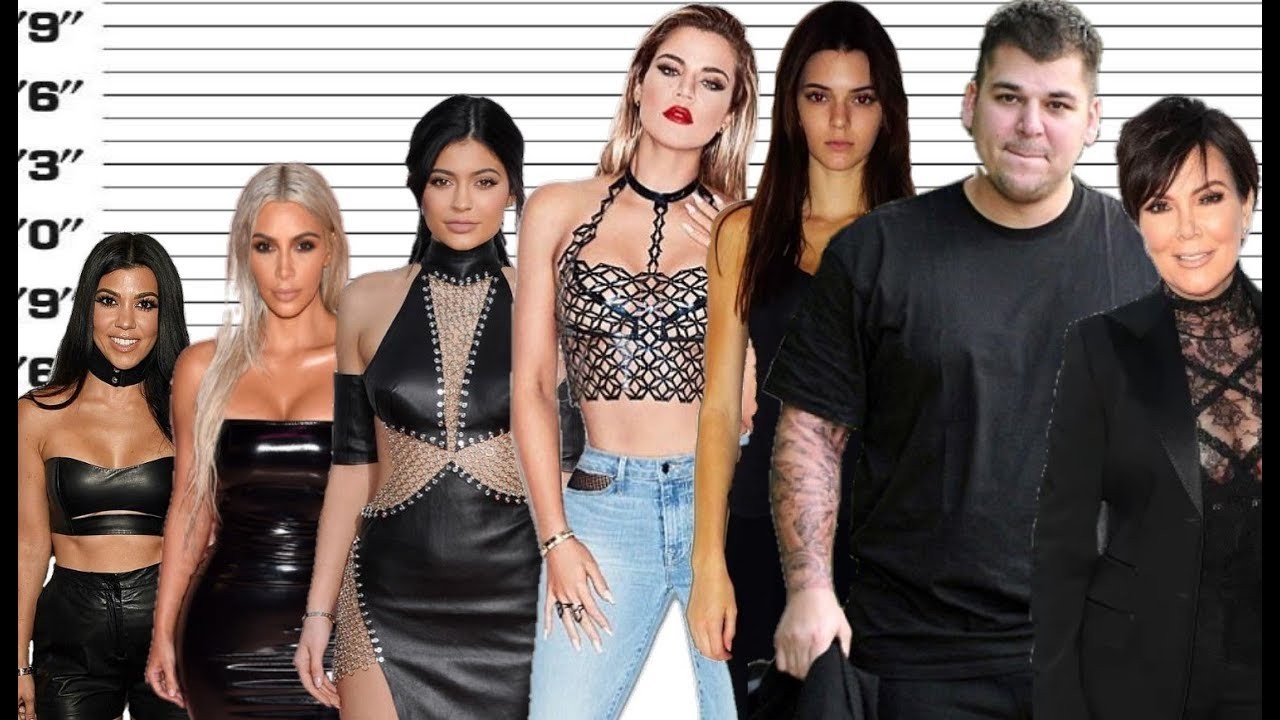 Weight and Height of Kardashians/Jenners