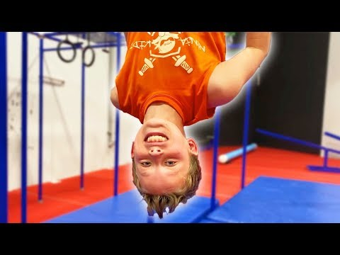 Paxton's NINJA Regional Qualifier With The Ninja Kidz!