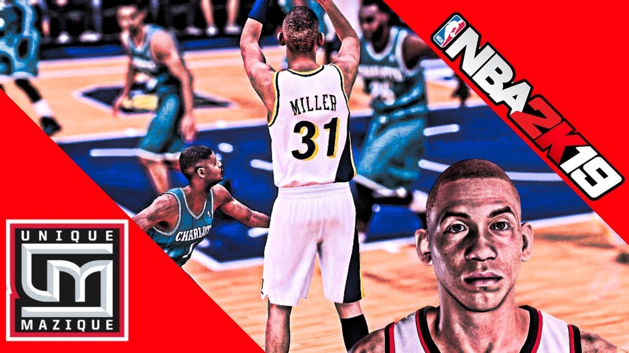 NBA 2K19': How To Create Reggie Miller For MyLeague Rosters