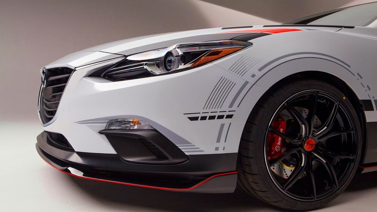 Mazda 3 Club Sport Concept 2013 Aro 19 2 5 Skyactiv G