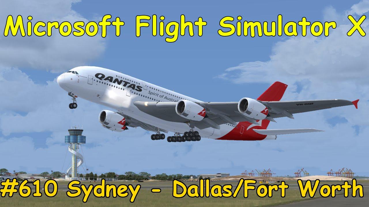 let 39 s play microsoft flight simulator x teil 610 sydney. Black Bedroom Furniture Sets. Home Design Ideas