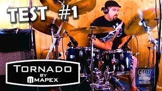 Mapex Tornado Studio Test 1