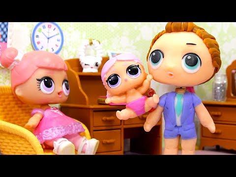 Куклы ЛОЛ СМЕШНЫЕ ВИДЕО #10 Мультики Игрушки и Сюрпризы LOL Dolls