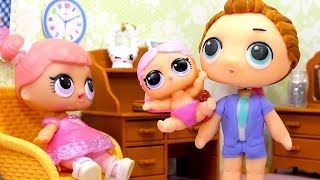 Куклы ЛОЛ СМЕШНЫЕ ВИДЕО 10 Мультики #Игрушки и Сюрпризы LOL с Лалалупси Вероника